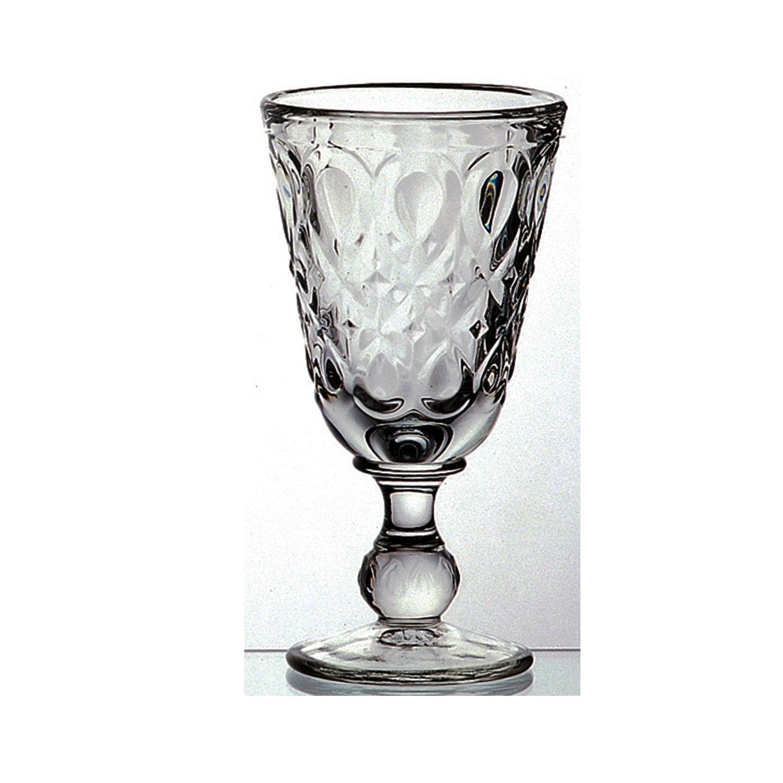 法国原产La Rochère里昂系列高脚杯酒杯玻璃杯 深灰