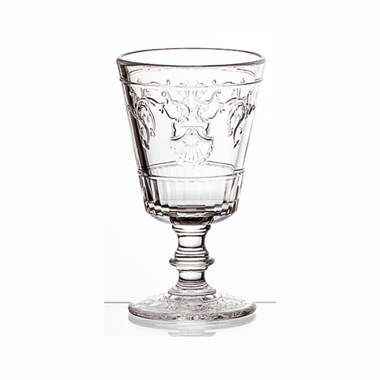 法国原产La Rochère凡尔赛系列高脚酒杯玻璃杯水杯 透明