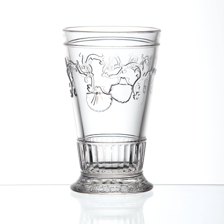 法国原产La Rochère凡尔赛系列长饮杯玻璃杯酒杯水杯 透明