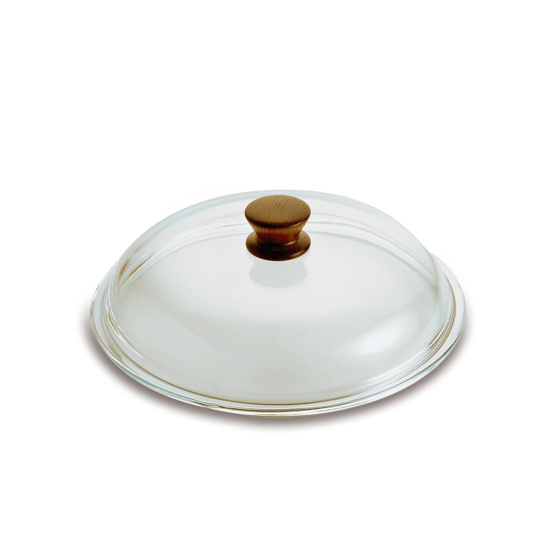 意大利PENTOLPRESS高硼硅玻璃锅盖木质款28/32cm 32cm