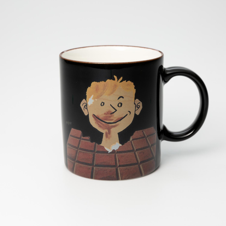日本原产AITOsavignac系列美浓烧陶瓷马克杯美味巧克力 花色
