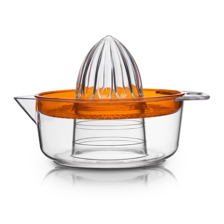 意大利原产Cosmoplast塑料橙子榨汁器 柠檬榨汁器 橙色
