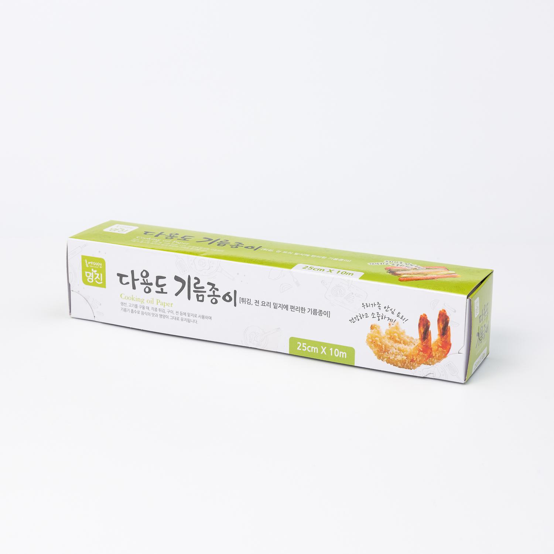 韩国原产Myungjin烘焙油纸烧烤纸不粘烤盘纸 白色 M