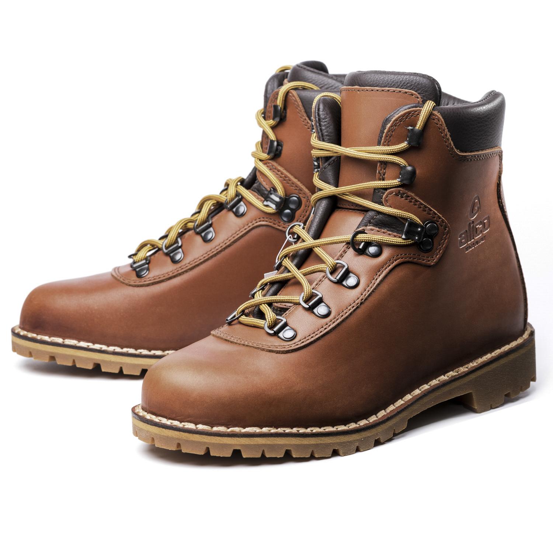 意大利原产alico 阿里克sportSummit系列专业防水登山鞋 宽版 浅棕色 41