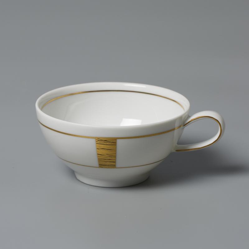 德国原产Königlich Tettau白底镀金茶具 白色 茶杯咖啡杯