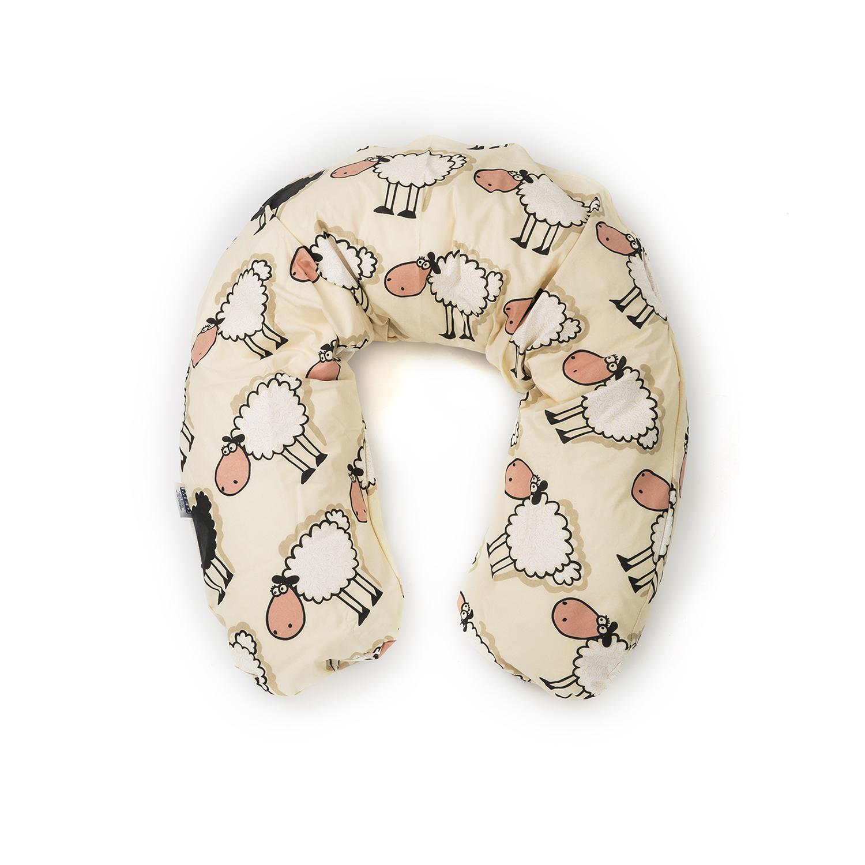 德国原产CORPOMED棉质哺乳枕孕妇枕U型枕托腹枕枕套 浅黄 175*30cm