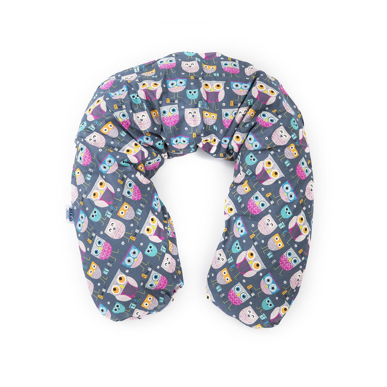 德国原产CORPOMED 棉质哺乳枕孕妇枕U型枕托腹枕枕套 浅紫 194*35cm