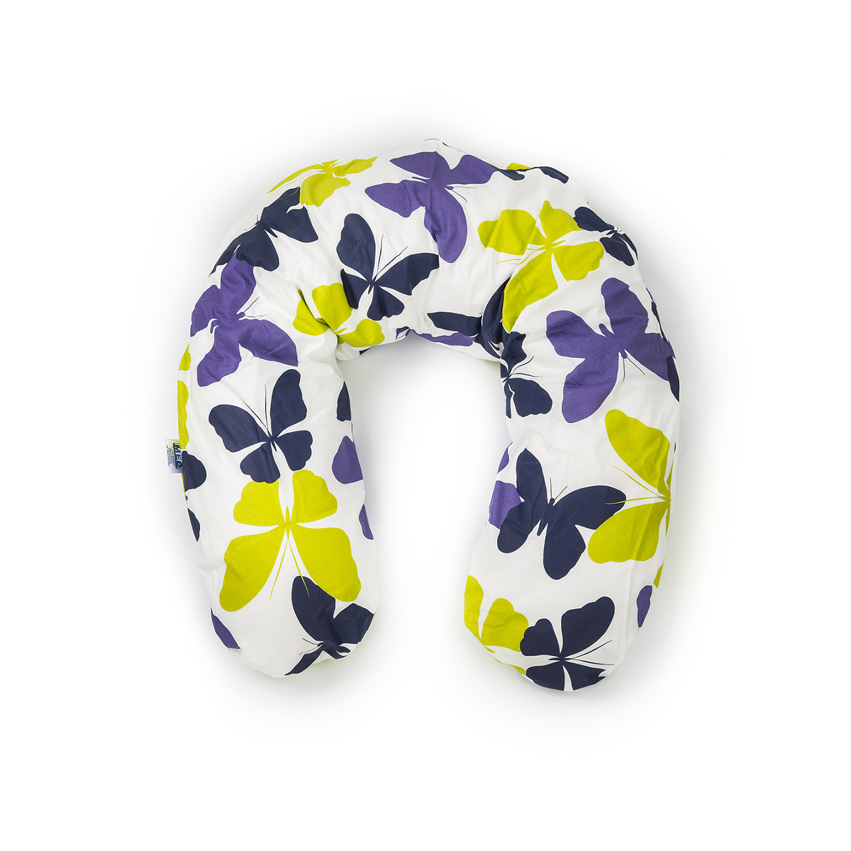 德国原产CORPOMED 棉质哺乳枕孕妇枕U型枕托腹枕枕套 浅灰 194*35cm