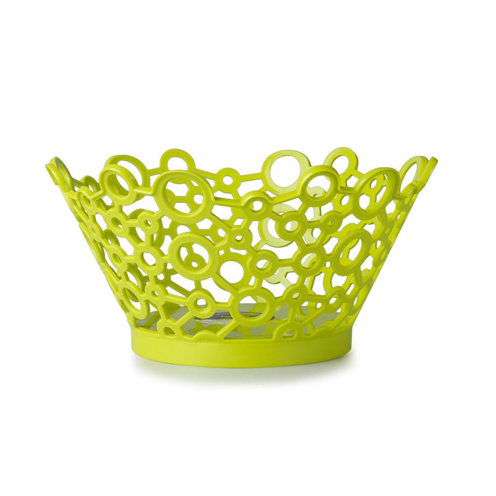 意大利原产GIO'STYLE FOR ME系列轻质便携圆形水果篮 绿色