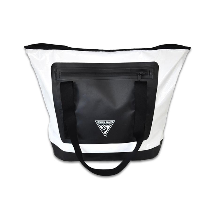 美国原产SEATTLE SPORTS楔形手提包手拿包 黑白
