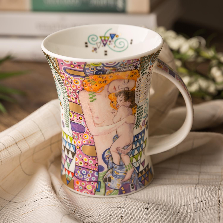 英国DUNOON丹侬richmond型骨瓷茶杯水杯骨瓷马克杯挚爱 挚爱