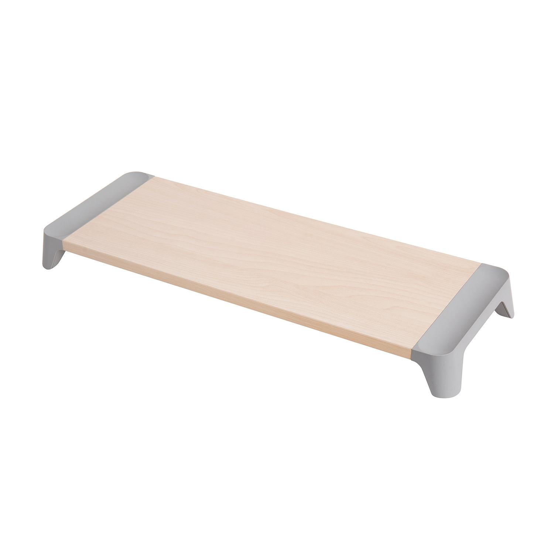 韩国原产pallo woody starter简约木质电脑桌 灰色