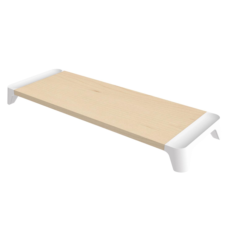 韩国原产pallo woody starter简约木质电脑桌 白色