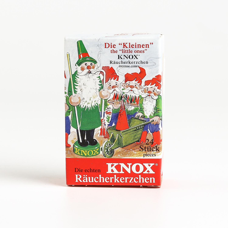 德国原产KNOX塔香混合香香熏香料点燃型小号24粒/盒 彩色
