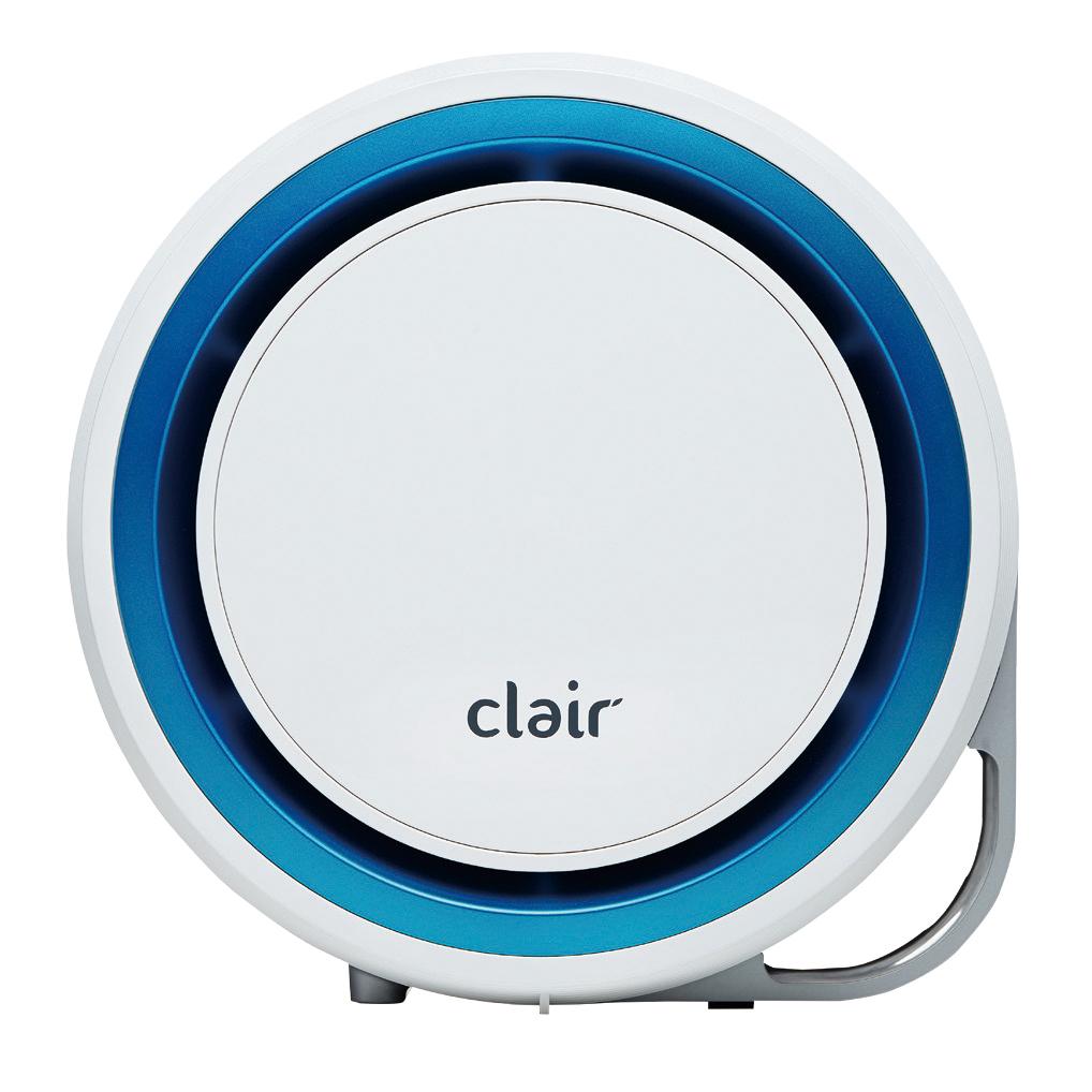韩国原产clair R2升级版家用除甲醛除尘除有害物质净化器 蓝色