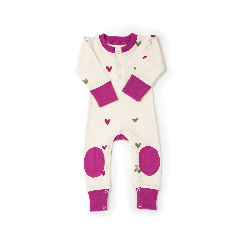 美国原产cat&dogma 幼儿运动衫 纯棉运动服 婴儿运动衣 紫色 0-3个月