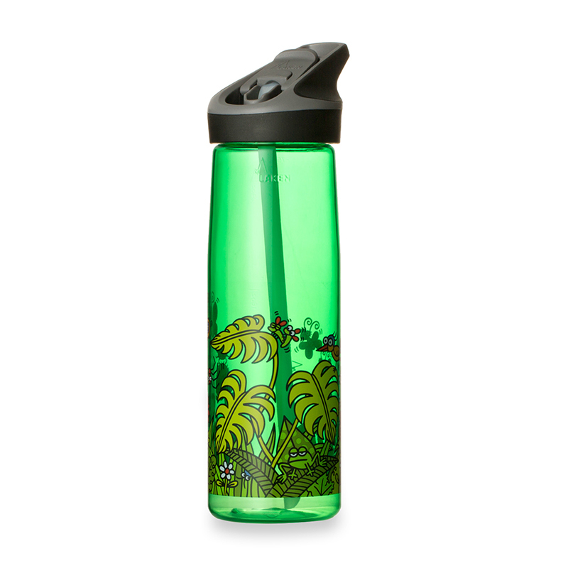 西班牙原产LAKEN 户外登山水壶水杯 绿色