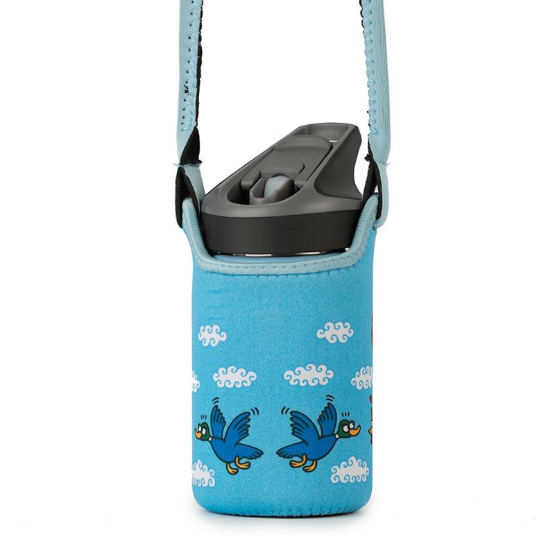 西班牙原产LAKEN 不锈钢保温水杯儿童水杯(便携防护袋) 天蓝
