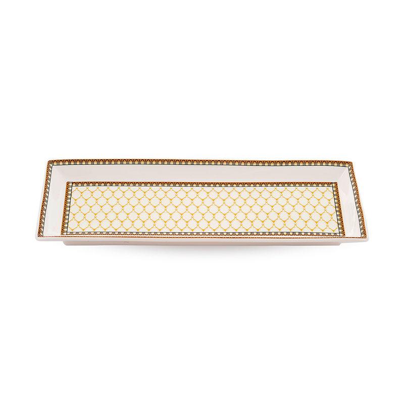 英國原產HALCYON DAYS皇家認證骨瓷托盤點心盤水果盤宮廷 乳白色
