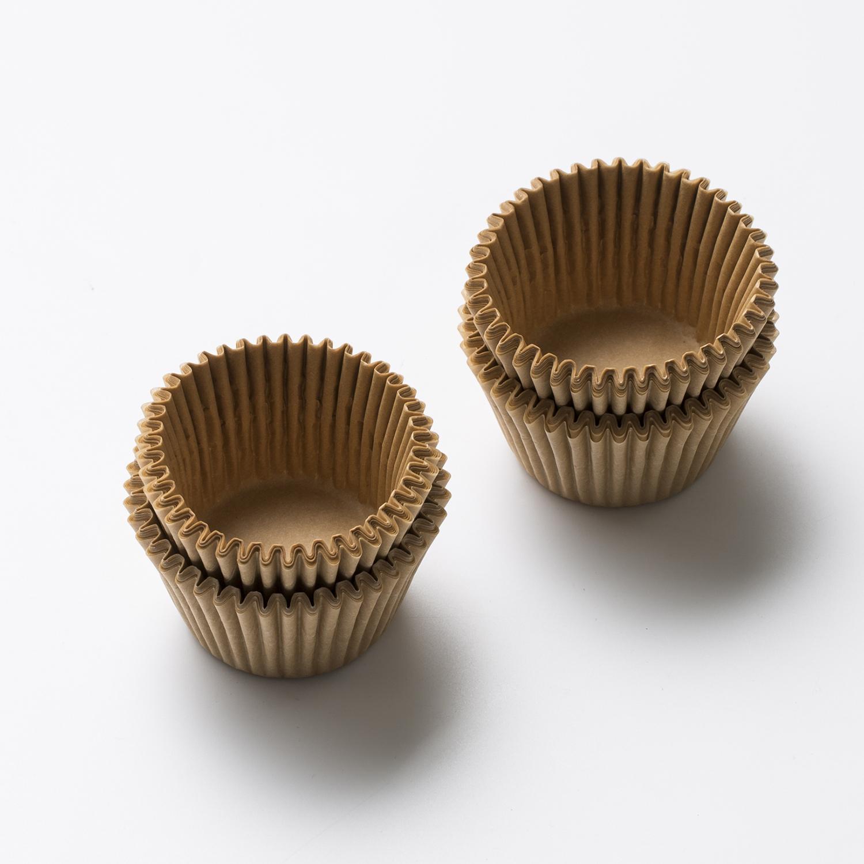 韩国原产NORDICPAPER烘焙蛋糕马芬杯纸模纸杯 100个/盒 金色
