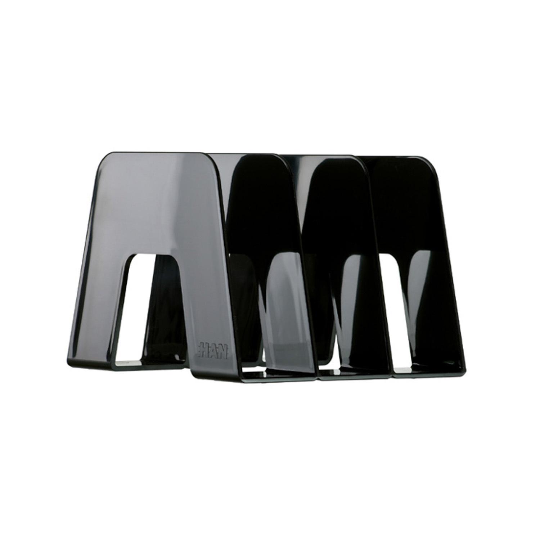 德国原产HAN环保防滑桌面收纳架办公用品资料架文件栏 黑色
