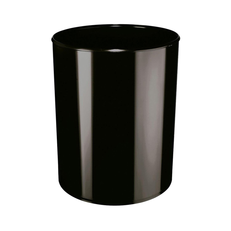 德国原产HAN经典简约垃圾桶垃圾篓纸篓 黑色