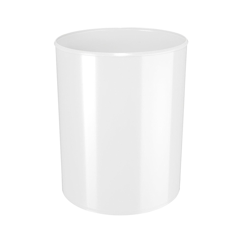 德国原产HAN经典简约垃圾桶垃圾篓纸篓 白色