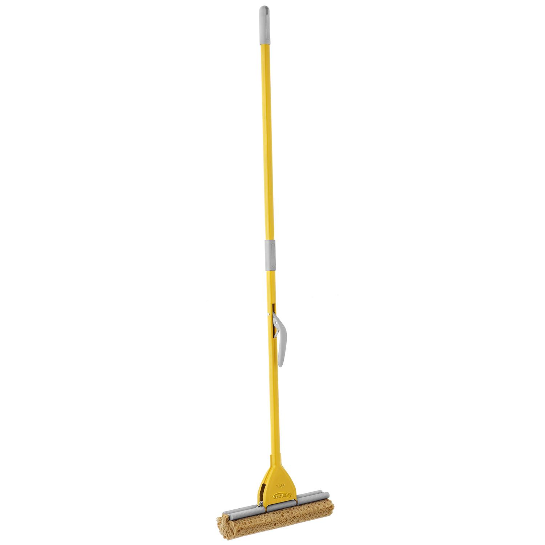 意大利原产APEX可拆卸式海绵拖把地拖黄色28cm 黄色